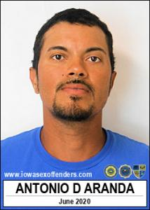 Antonio Dejesus Aranda a registered Sex Offender of Iowa