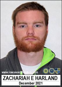 Zachariah Earl Harland a registered Sex Offender of Iowa