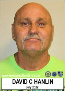 David Charles Hanlin a registered Sex Offender of Iowa