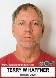 Terry Warren Haffner a registered Sex Offender of Iowa