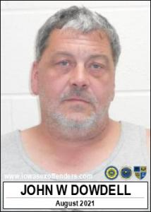 John Wayne Dowdell a registered Sex Offender of Iowa