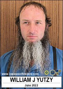 William J Yutzy a registered Sex Offender of Iowa
