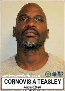 Cornovis Abrams Teasley a registered Sex Offender of Iowa