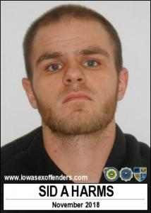 Sid Allen Harms a registered Sex Offender of Iowa