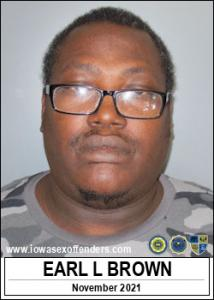 Earl Lamont Brown a registered Sex Offender of Iowa