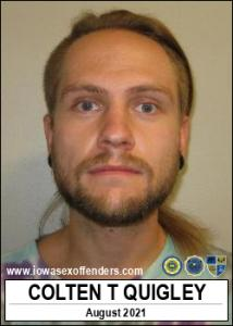 Colten Thomas Quigley a registered Sex Offender of Iowa