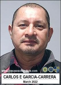 Carlos Enrique Garcia-carrera a registered Sex Offender of Iowa