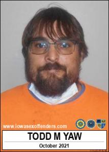 Todd Matthew Yaw a registered Sex Offender of Iowa