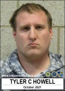 Tyler Christopher Howell a registered Sex Offender of Iowa
