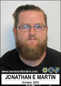 Jonathan Earl Martin a registered Sex Offender of Iowa