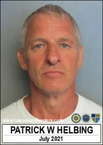 Patrick William Helbing a registered Sex Offender of Iowa