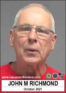 John Michael Richmond a registered Sex Offender of Iowa