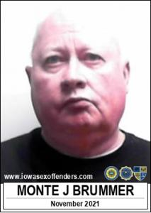 Monte Jay Brummer a registered Sex Offender of Iowa