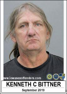 Kenneth Charles Bittner a registered Sex Offender of Iowa