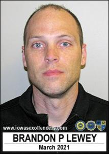 Brandon Paul Lewey a registered Sex Offender of Iowa