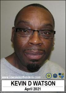 Kevin Donnell Watson a registered Sex Offender of Iowa