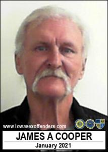 James Allen Cooper a registered Sex Offender of Iowa