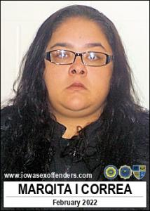 Marqita Irene Correa a registered Sex Offender of Iowa
