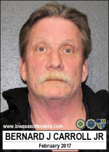 Bernard James Carroll Jr a registered Sex Offender of Iowa