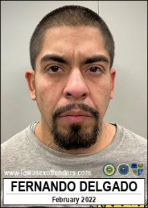 Fernando Delgado a registered Sex Offender of Iowa