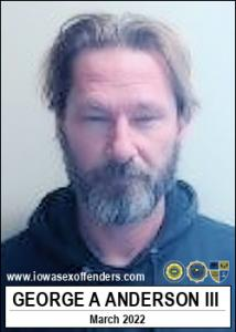 George Allison Anderson III a registered Sex Offender of Iowa