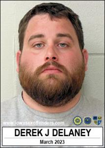 Derek James Delaney a registered Sex Offender of Iowa