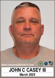 John Crowley Casey III a registered Sex Offender of Iowa