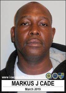 Markus Jay Cade a registered Sex Offender of Iowa