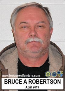 Bruce Allen Robertson a registered Sex Offender of Iowa