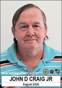 John Dee Craig Jr a registered Sex Offender of Iowa