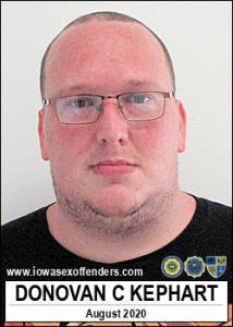 Donovan Charles Martin Kephart a registered Sex Offender of Iowa
