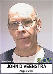 John D Veenstra a registered Sex Offender of Iowa