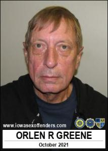 Orlen Ray Greene a registered Sex Offender of Iowa