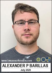 Alexander Patrick Barillas a registered Sex Offender of Iowa