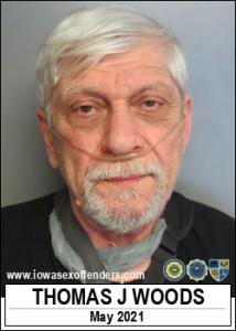 Thomas Joseph Woods a registered Sex Offender of Iowa