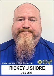 Rickey Joe Shore a registered Sex Offender of Iowa