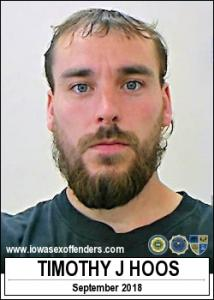 Timothy James Hoos a registered Sex Offender of Iowa