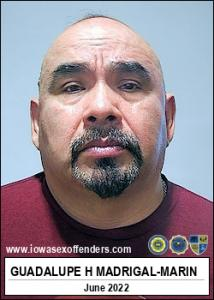 Guadalupe H Madrigal-marin a registered Sex Offender of Iowa