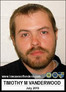 Timothy Michael Vanderwood a registered Sex Offender of Iowa