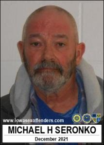 Michael Henry Seronko a registered Sex Offender of Iowa