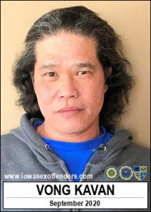 Vong Kavan a registered Sex Offender of Iowa
