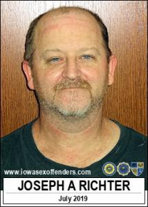 Joseph Andrew Richter a registered Sex Offender of Iowa