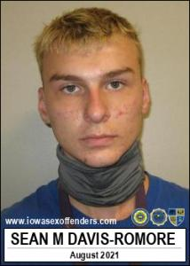 Sean Michael Davis-romore a registered Sex Offender of Iowa