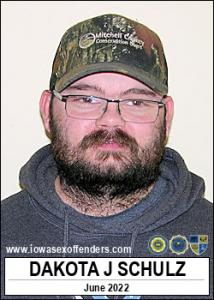 Dakota James Kyle Schulz a registered Sex Offender of Iowa