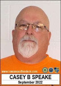 Casey Brian Speake a registered Sex Offender of Iowa