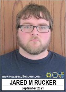 Jared Marshal Rucker a registered Sex Offender of Iowa