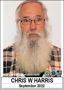 Chris Wayne Harris a registered Sex Offender of Iowa