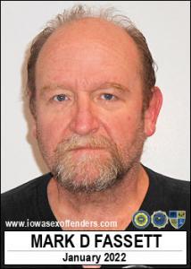 Mark Donnell Fassett a registered Sex Offender of Iowa