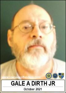 Gale Arthur Dirth Jr a registered Sex Offender of Iowa