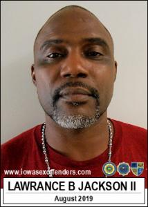 Lawrance Bernard Jackson II a registered Sex Offender of Iowa